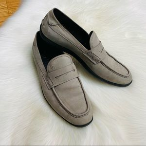 Brooks Brothers 1818 Footwear Suede Penny Loafers
